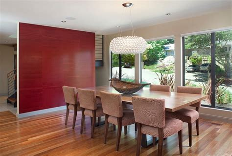 dining room accent wall how to create a sensational dining room with red panache