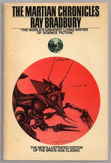 1451678193 the martian chronicles 56 best sci fi book covers images on pinterest