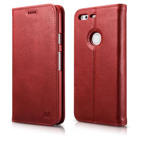 Pixel Xl Leather Textured Standing With Card Slot pixel leather icarer genuine leather flip