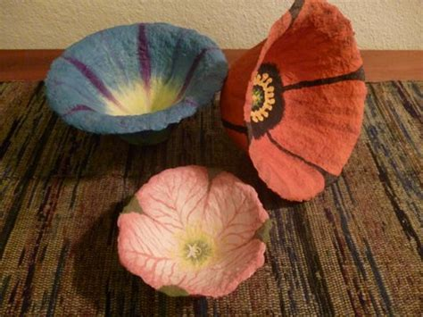 How To Make Paper Mache Flowers - open house preview of our gift sale harlequin