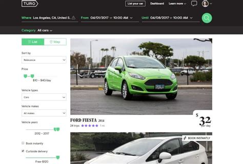 airbnb for cars turo the airbnb of cars helps make travel more