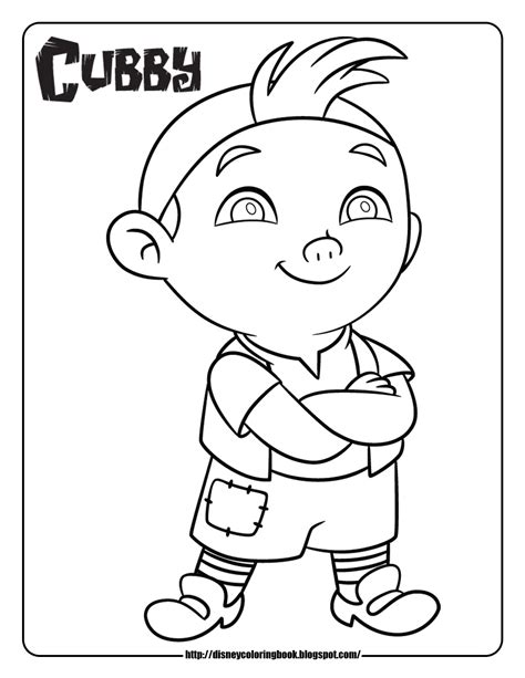 Disney Coloring Pages And Sheets For Kids Jake And The Jake Neverland Coloring Pages