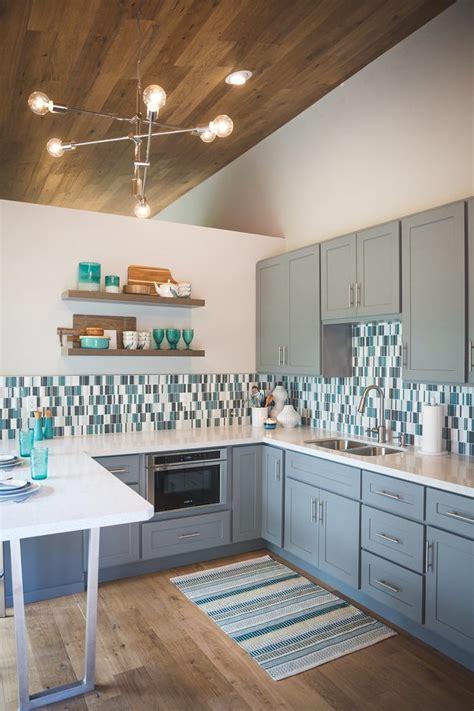 seattle sea salt paint color modern kitchen  kitchens