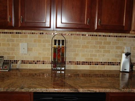 decorative tile inserts kitchen backsplash kitchen