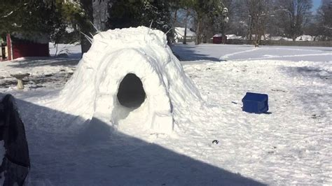 how to make an igloo in your backyard how to build an igloo in your backyard 28 images how