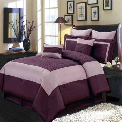 purple king size bedding sets home furniture design