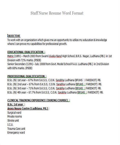 resume format for staff freshers 23 modern fresher resume templates free premium templates