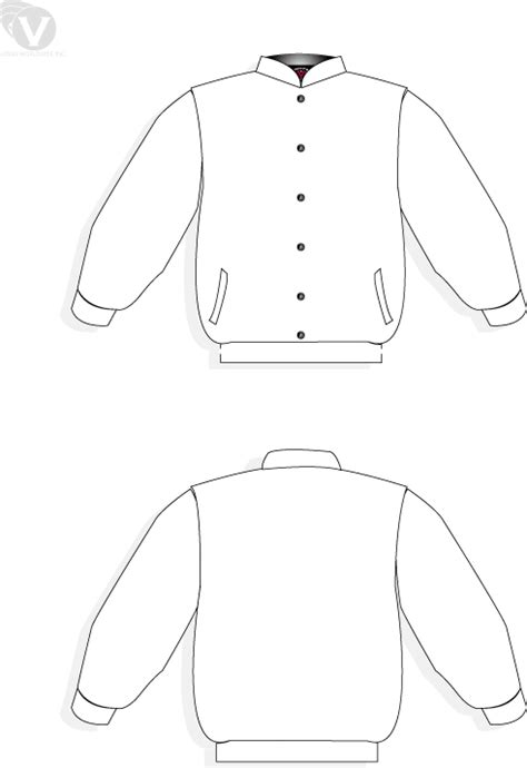 bomber jacket template custom jackets at cjackets