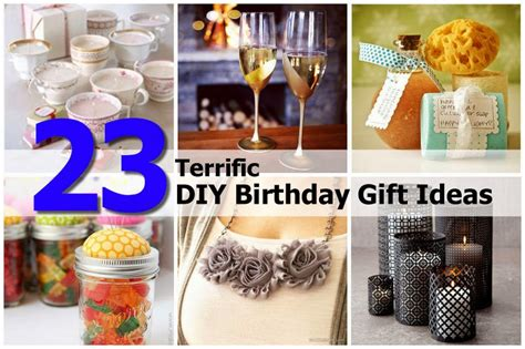 diy gift ideas 23 diy birthday gift ideas diy craft projects