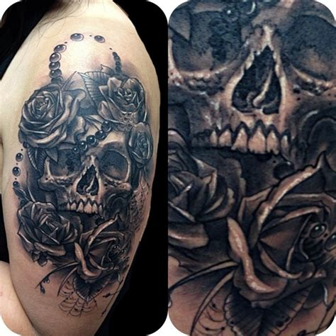 tattoo black and grey skull black and grey tattoo artists orange county los angeles