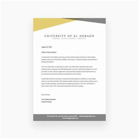 Free Online Letterhead Maker With Stunning Designs Canva Create Letter Template