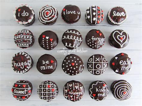 Valentine Home Decorating Ideas by Ganache Cream And Chocolate Valentine S Cupcakes
