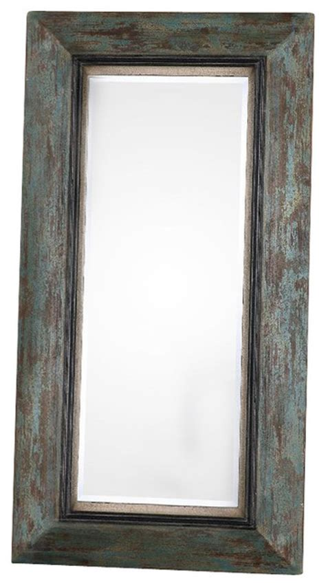 bronwen distressed leaner mirror 13930 rustic floor