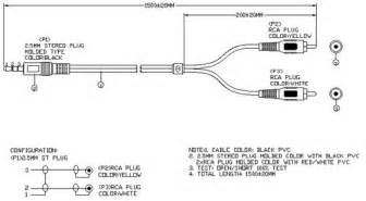 rca to 3 5mm stereo wiring diagram rca free engine image for user manual