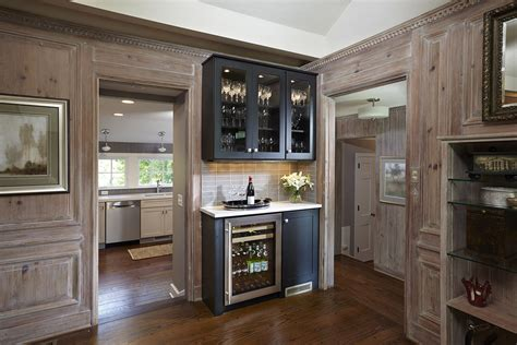 build a bar from stock cabinets use cabinets to build a built in hutch buffet or bar