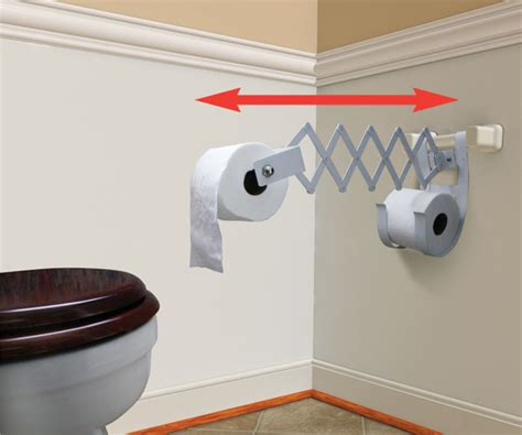 where to put toilet paper holder in small bathroom accordion style toilet roll holder lets you bring the