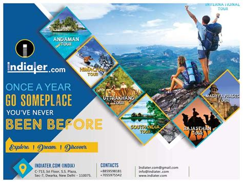 tour flyer template tour and travel flyer template indiater