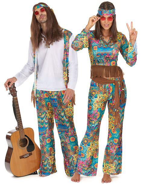 vestito di carnevale figli dei fiori fai da te costumi da hippy figli dei fiori