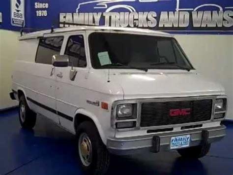 family gmc family trucks and vans 1995 gmc vandura b21762