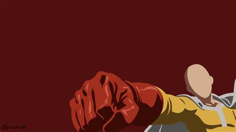 wallpaper anime opm saitama one punch man by novemberreaper on deviantart