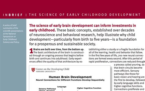 research paper on child development research paper related to child development