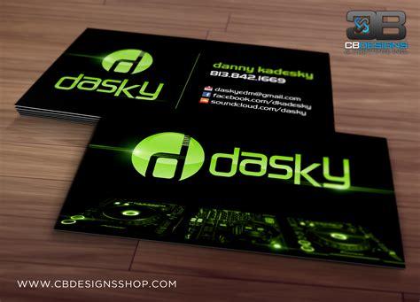 Dj Card Design