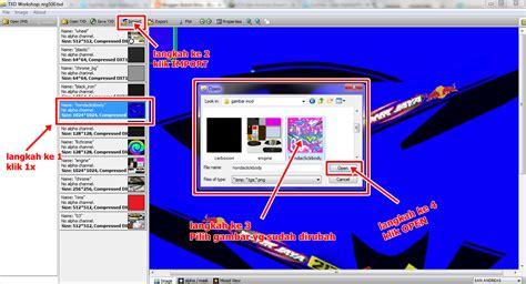 buka gambar format eps cara edit merubah mengistall mod gta san andreas