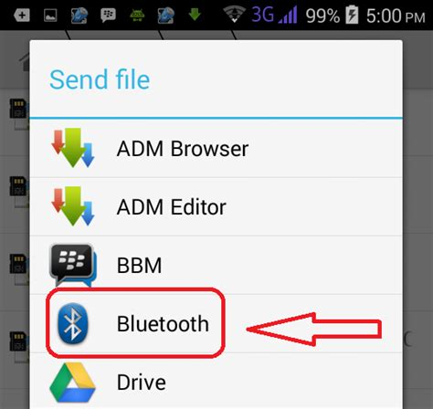 bluetooth file sender apk brighter gadgets how to send apk files through bluetooth from any android phone