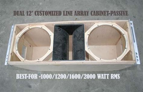 dual   array  audio work delhi speaker diy