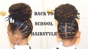 hairstyles plaited children kids natural hairstyles the plaited up do back to school