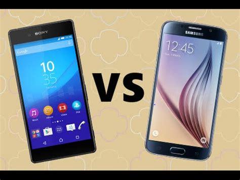 Samsung S6 Vs Sony Z4 sony xperia z4 vs samsung galaxy s6 look