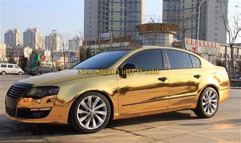best chrome best quality chrome gold vinyl car wrap gold