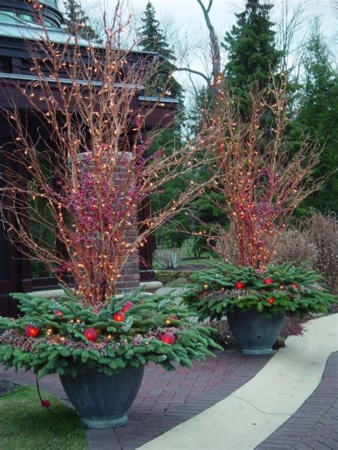 outdoor winter planter ideas 1045 best images about winter pots on outdoor planters topiaries and