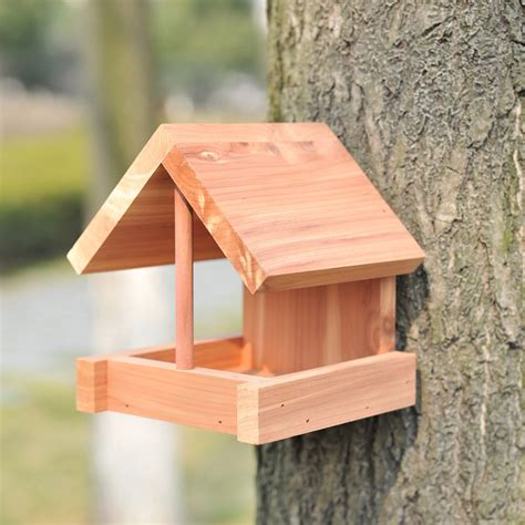 bird feeders wood bird cages