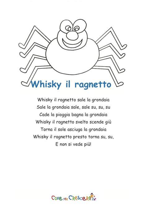 whiskey il ragnetto testo whisky ragnetto testo corto cose per crescere
