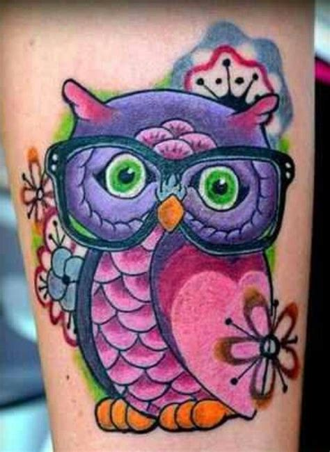 new school girly tattoo the gallery for gt new school girly owl tattoos