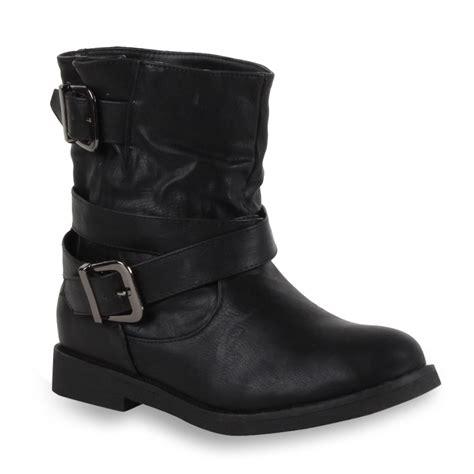 cool biker boots coole damen stiefeletten biker boots lederoptik schuhe