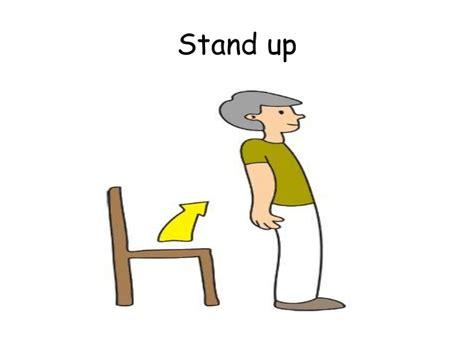 imagenes de stand up commands