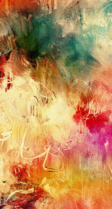 colorful vintage wallpaper レトロな油絵風スマホ壁紙 iphone5s壁紙 待受画像ギャラリー