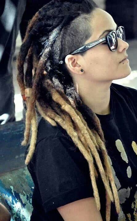 shaved side dreadlocks 820 best images about locs of love on pinterest black