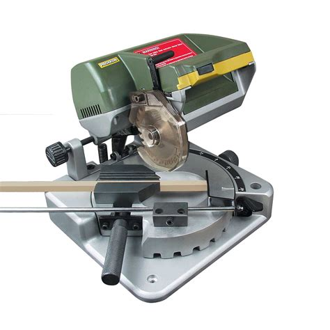 micro table saw proxxon mini chop miter saw for hobby use