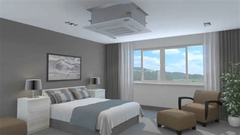 Ac Ceiling ceiling cassette air conditioner bedroom
