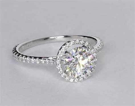 1 2 carat floating halo engagement ring