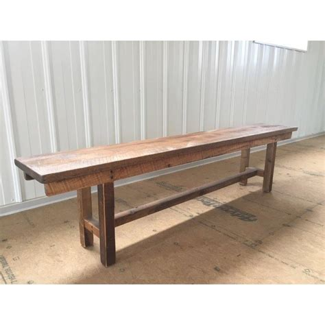 bench hiring rustic reclaimed barn wood bench