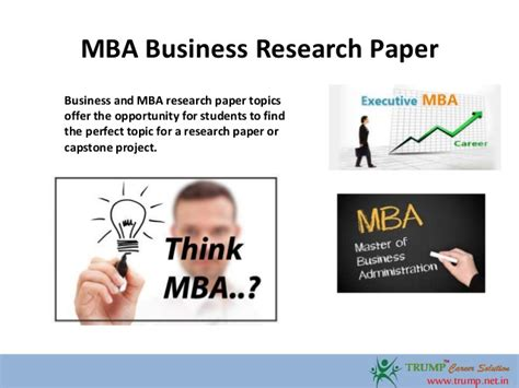 Mba Research Report by Mba Research Paper Dissertationadviser X Fc2