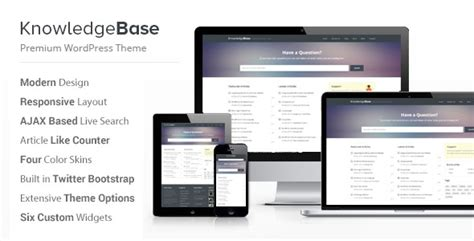 website templates for knowledge base 10 best knowledge base wiki wordpress themes awd blog