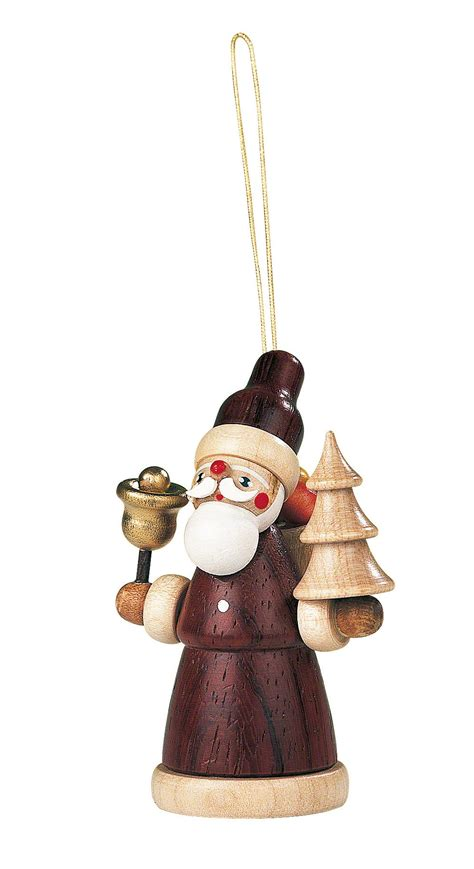 tree ornament santa claus 8 cm 3in by m 252 ller kleinkunst