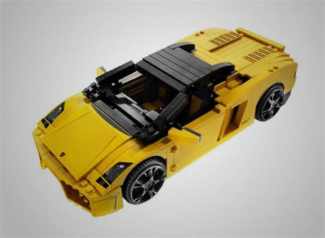 Lamborghini Gallardo Lego Lego Lamborghini Gallardo 6 Thecoolist The Modern