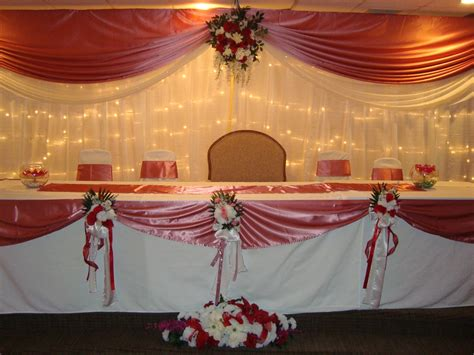 Table Decoration With Cloth by Wedding Table Decoration Linens Noretas Decor Inc
