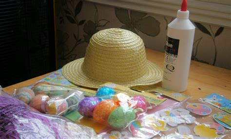 How To Make A Paper Easter Bonnet - this is me of 3 cheap and easy easter bonnet